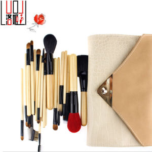 22PCS Original Wood Handle Professional Natural Hair Makeup Brush pictures & photos