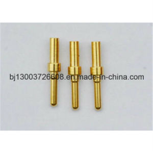 OEM Precision CNC Machining Brass Pin and Sockets pictures & photos
