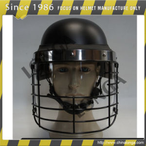 Military Anti Riot Helmet with Special PC Visor
