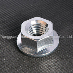 Carbon Steel Hex Disc Nut with Zinc Plated pictures & photos