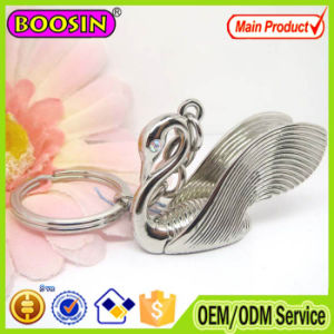 on Promotion! CZ Stone Crystal Swan Keychain with Keyring pictures & photos