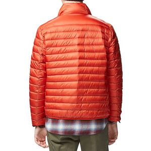 Mens Basic Padded Winter Nylon Jacket with Lightweight Filling pictures & photos