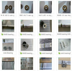 Bearing NMB All Kinds Deep Groove Ball Bearing Singapore NMB Bearing 608RS 607zz 624RS 695zz 626zz 626RS pictures & photos