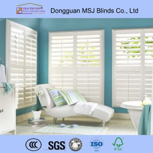 Wood Window Shutter Wooden Window Shutter Blinds pictures & photos