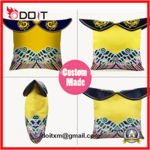 Custom Chinese Feature Drage Rope Plush Cushion pictures & photos