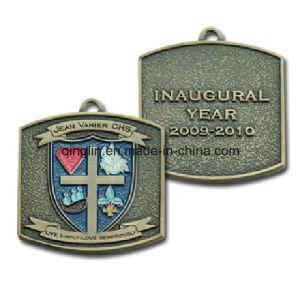 Custom Sandblasting Antique Bronze Metal Medal (QL-JP-0034) pictures & photos