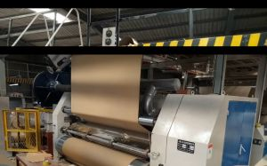 Corrugated Board Making Series: Vacuum Adsorption Single Facer pictures & photos