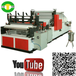 High Quality Rewinding Towel Kitchen Tissue Roll Machine pictures & photos