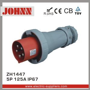 IP67 5p 125A Hot Style Industrial Plug pictures & photos