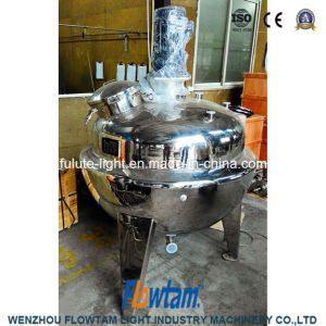 High Standard Stainless Steel Tilting Electric Heating Jacket Kettle pictures & photos