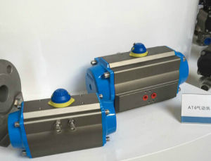 at 6 Series Rack & Pinion Pneumatic Actuators Double Acting/Single Acting/Spring Return pictures & photos