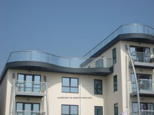 12mm Thickness Modern Tempered Glass Balcony pictures & photos