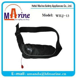 Hot Sale 3 Colors Neck Inflatable Llife Jacket Belt pictures & photos