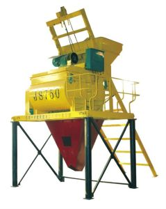 Zcjk Double-Shaft Cement Mixer (JS750) pictures & photos