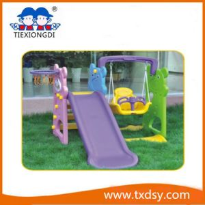 Kids Plastic Playground Slide Material Kids Swing and Slide pictures & photos
