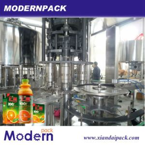 Triad Juice and Tea Drink Hot Filling Machine pictures & photos