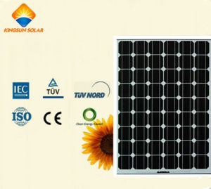 150W-162W Powerful High Stability Mono Silicon Solar Panel pictures & photos