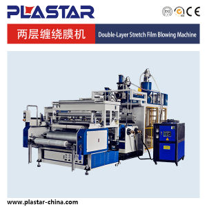 Three Layers Co Extrusion Stretch Film Machine pictures & photos
