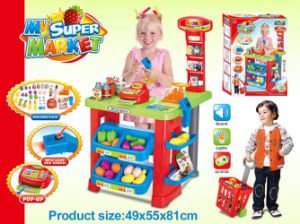 Kids Play Toy Super Market Cash Register Toy (H3775117) pictures & photos