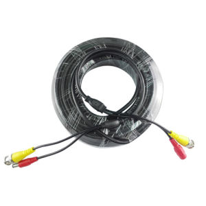 Rg 59 Ahd Power and Video Jumper Cables 10 Meters/CCTV Cables pictures & photos