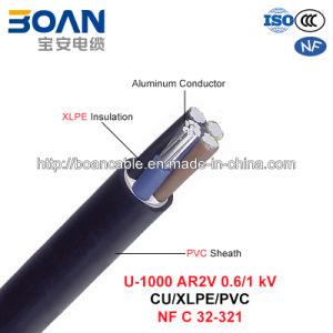 U-1000 Ar2V, Power Cable, 0.6/1 Kv, Al/XLPE/PVC (NF C 32-321) pictures & photos