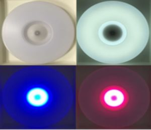 Moso Lighting LED Bluetooth Smart Light Ceiling Light with Bluetooth Speaker APP Control Round pictures & photos