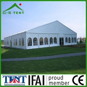 China Aluminum Frame Party Marquee (GSL) with Curtains pictures & photos