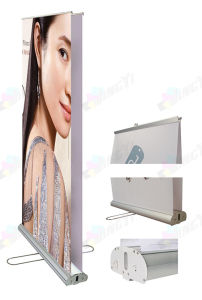 Two Sides Printed Double Sided Display Scrolling Roll up Banner pictures & photos
