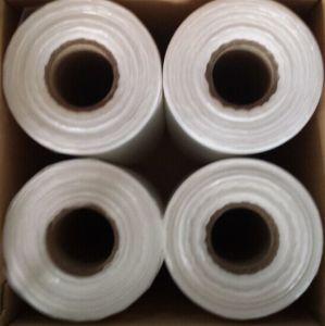 Amercia HDPE Flat Bag on Roll Transparent Supermarket Bag Food Bag