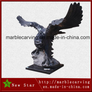 Decoration Marble Eagle Animal Gift Sculpture pictures & photos