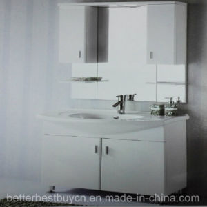 Best Price High Quality PVC Bethroom Cabinet with Mirror pictures & photos