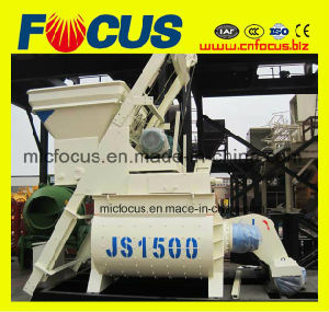 Js1500 Concrete Mixture Machine with Twin-Shaft for Sale pictures & photos