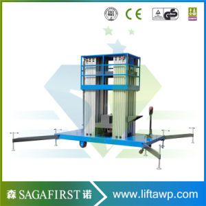 12m Aluminum Alloy Upright Towable Sky Lift Platforms pictures & photos