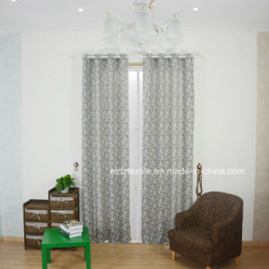 New Fashionable Linen Touching Polyester Material Curtain Fabric pictures & photos