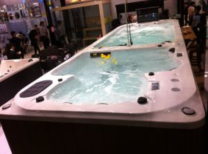 Monalisa Outdoor Hot Tub SPA with Whirlpool Jacuzzi Bathtub M-3373 pictures & photos