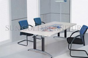 China Manufactor Cheap Price Small Meeting Office Table Design (SZ-OT103) pictures & photos