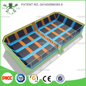 Sviya Manufacturer Commercial Adults Dodgeball Trampoline (xfx2515) pictures & photos