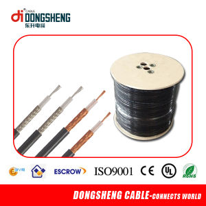 50 Ohm Rg179/Rg178 Coaxial Cable for CCTV System with ISO Ce pictures & photos