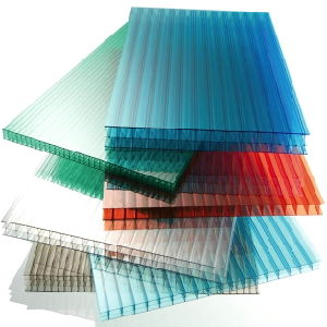 Recycled Undulated PC Hollow Sheet Commercial Greenhouse for Sale pictures & photos
