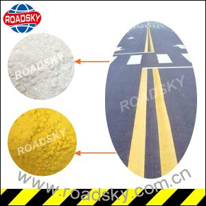 Anti-Wear White Highway Signs Reflective Road Line Marking Paint pictures & photos