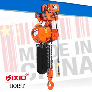 Gear Reducer with Motor -5 Ton Hook Type Electric Chain Hoist pictures & photos