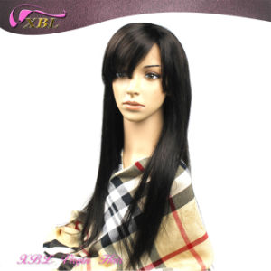Xbl Glueless Human Hair Wig Virgin Brazilian Hair Lace Front Wig pictures & photos