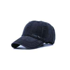 Design Your Distress Washed Black Baseball Caps pictures & photos