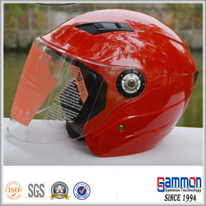 Beautiful Red Motorcycle/Scooter Helmet on Sale (OP203)