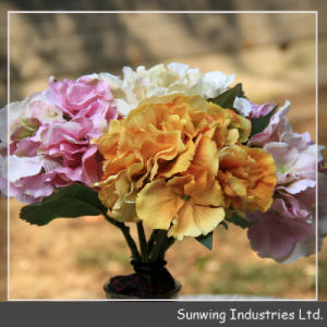 Cheap Artificial Flower Light Purple Multi-Layer Peony Wholesale in Stock pictures & photos