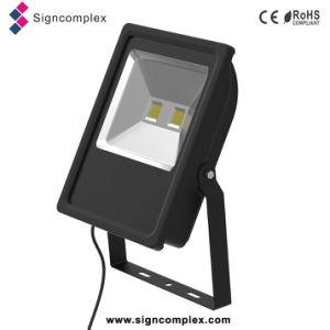 China New Energy Saving 50% Ulthin Slim COB 100 Watt LED Flood Light pictures & photos