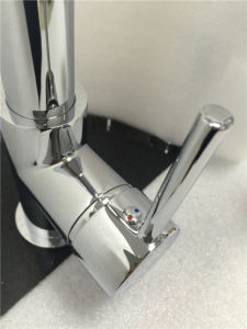 Watermark Sanitary Wares Spray Pull out Brass Kitchen Mixer (HY813) pictures & photos