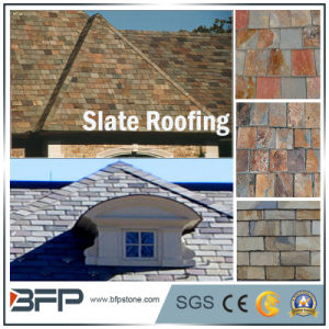 High Quality Natural Roof Slate Roofing Covering Tile pictures & photos