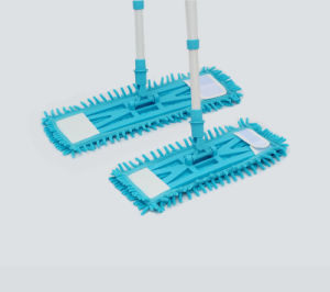Telescopic Handle Chenille Microfiber Economic Mop, Flat Mop (1011) pictures & photos