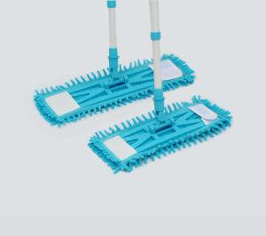 Telescopic Handle Chenille Microfiber Economic Mop, Flat Mop (1065) pictures & photos